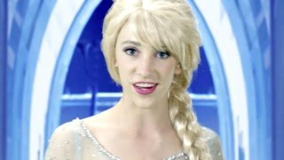 Disney Frozen Elsa Let It Go   In Real Life