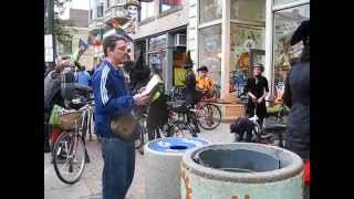 Street Preacher Witnessing to Witches on Bicycles while Demons Manifest