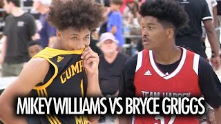 Mikey Williams GOES OFF In 1V1 With New San Ysidro Teammate Bryce Griggs!