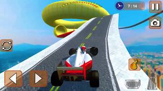 Formula Sports Car Racer Impossible Tracks #3   Android Gameplay   Friction Games