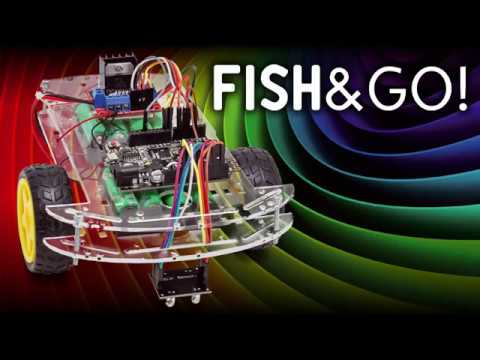 FISH&GO! A WiFi Rover controlled by Blynk APP | Open Electronics