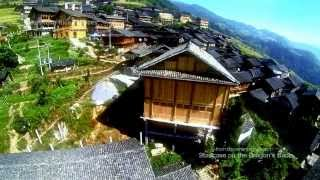 preview picture of video 'Longsheng Rice Terraces ~ aerial footage by GoPro Hero 3'