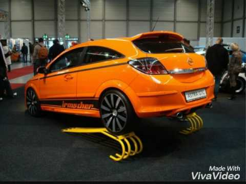 Opel Astra H gtc tuning