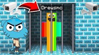 Minecraft : ESCAPING EVIL GUMBALLS PRISON! (Ps3/Xbox360/PS4/XboxOne/PE/MCPE)