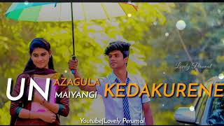 Siragilama Parakurene-Alai Payum Nejam|Tamil album song whatsapp status by Lovely Perumal|