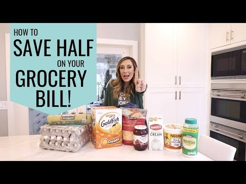 Tips for saving HALF on your food bill! (WITHOUT coupons!)