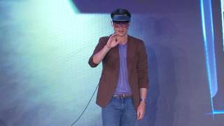 Meron Gribetz (CEO, Meta): Demo of Meta's AR Workspace
