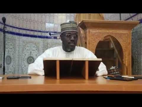 06 Sheikh Muhammad Shugaba Abdurrahman -  Meyadace ayi tindaga rashin Lafiya harzuwa Mutuwa