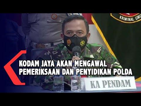 Kasus Penembakan Cengkareng, Kodam Jaya Ikut Kawal Proses Pemeriksaan dan Penyidikan Polda