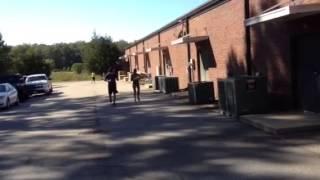 Donna running