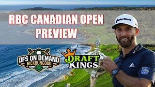 RBC Canadian Open Preview & Picks 2019 - DraftKings