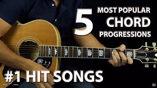 5 Most Popular Chord Progressions of ALL-TIME