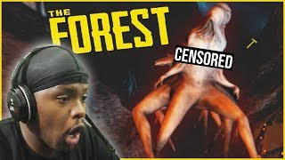 A Trip Deeper Into The CRAZIEST Cave In The Game! - The Forest Multiplayer Ep.15