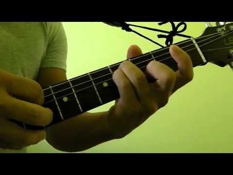 How to Press and Play F#m (F sharp minor) or Gbm (G sharp minor) Guitar Bar Chord