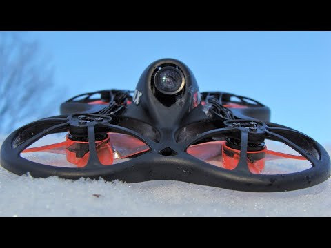 Emax Tinyhawk Winter Flights and Review
