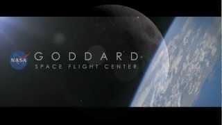 The moon 'cracked' - NASA