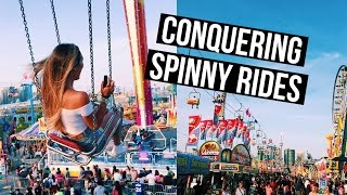 CONQUERING MY FEAR OF SPINNY RIDES