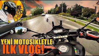 YENİ MOTOSİKLETLE İLK VLOG! | R25'ten yüksek CC motosiklete geçmek