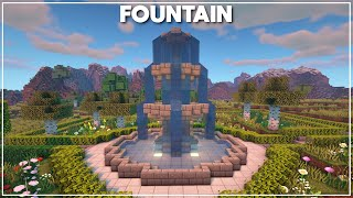Minecraft: How to Build a Fountain [Tutorial] 2020