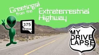 Nevada's Extraterrestrial Highway! Route 375, Northbound Dashcam