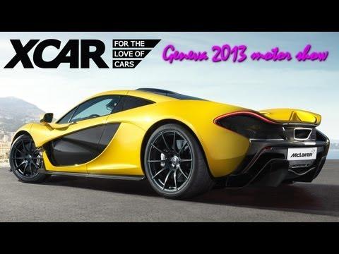 Mclaren P1, Geneva 2013 Motor Show - XCAR