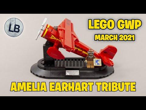 Vidéo LEGO Objets divers 40450 : Hommage à Amelia Earhart