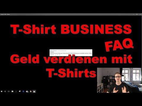 , title : 'T Shirt Business - Häufig gestellte Fragen: Gewerbe, Plattformen, Rechtliches etc.'