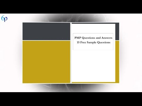15 Free PMP Exam Sample Questions - YouTube
