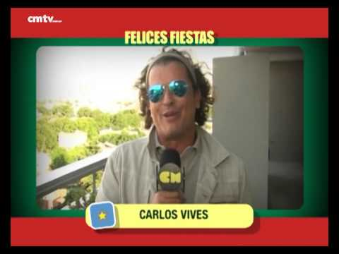 Carlos Vives video Saludos  - Fiestas 2014