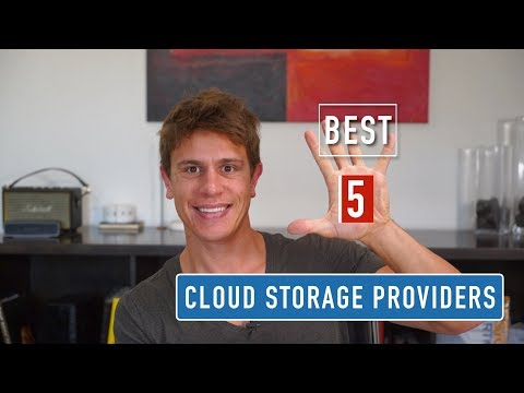 The BEST 5 Cloud Storage Providers of 2018