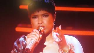 Jennifer Hudson performing Remember Me The Voice UK