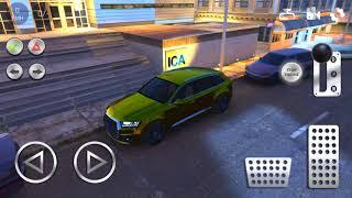 Мультик игра про Машинки - Учимся парковать машину. Золотой Джип Мультик про машинки для Мальчиков