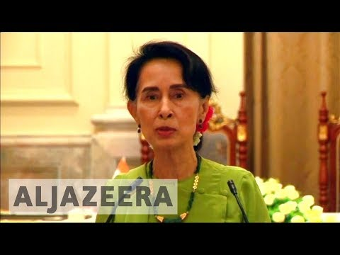 Myanmar leader Aung San Suu Kyi faces criticism for inaction