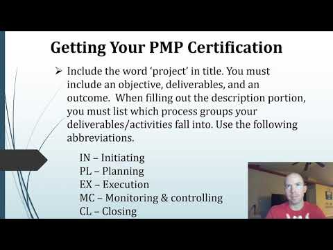 Getting your PMP - Application and Experience Examples - YouTube
