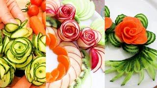 [1 HOUR] Super Salad Decoration Ideas - Creative Food Art Ideas