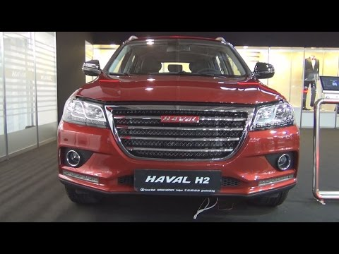 Great Wall Haval H2 1.5T 4WD (2016) Exterior and Interior in 3D