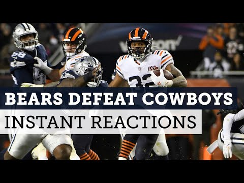 Bears give Cowboys a whooping in pursuit of the playoffs | Football Aftershow | NBC Sports Chicago