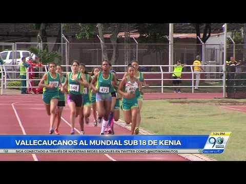 Tres atletas del Valle representarán a Colombia en el Mundial sub 18 en Kenia