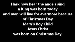 Mary's Boy Child sing-along track