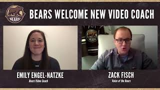 [HER] Bears welcome video coach Emily Engel-Natzke