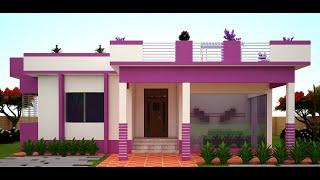 ৪ বেডরুমের একতলা সুন্দর বাড়ির ডিজাইন। 4 Bedroom House Plans. 4 Bedroom House Plans Indian Style.