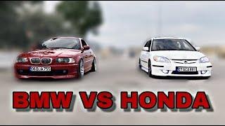 Honda Bmw'ye Kafa Tutarsa!!   Böyle Yarış Görülmedi!! (Herkez Arabasının markasını Yazsın)