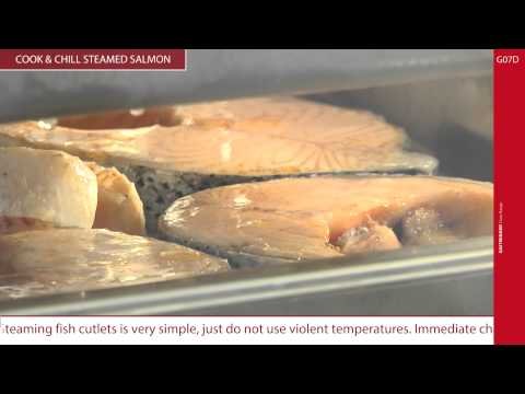 Gastronomy Ovens - Cook & Chill Steamed Salmon