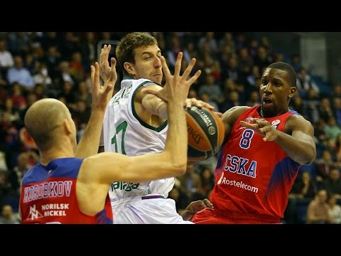 Highlights: RS Round 5, CSKA Moscow 78-86 Unicaja Malaga