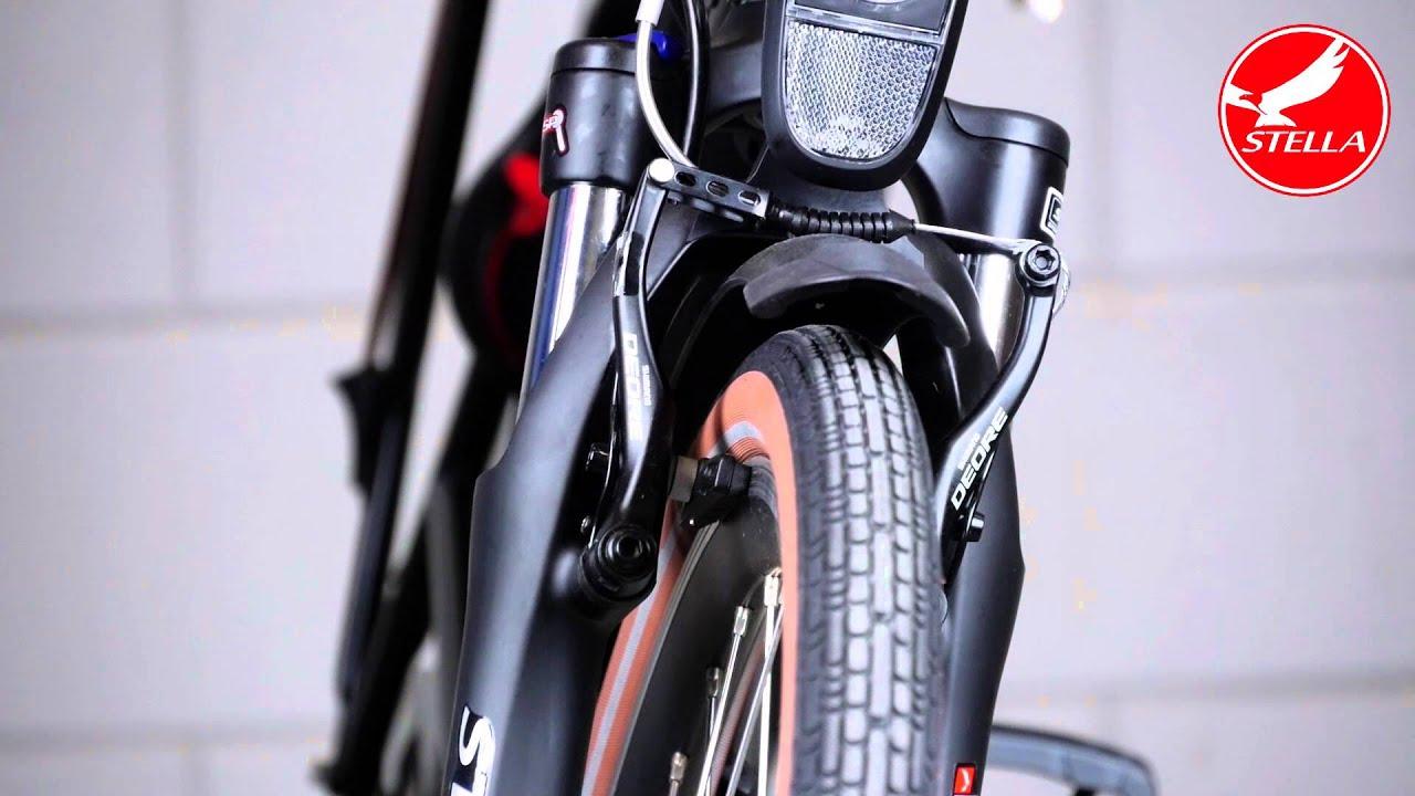 Voorrem afstellen elektrische fiets