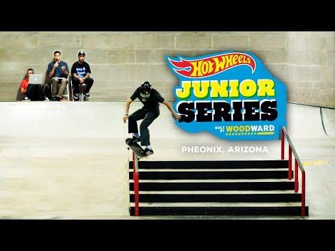 Shredding Phoenix With Zion Effs - Hot Wheels Junior Series