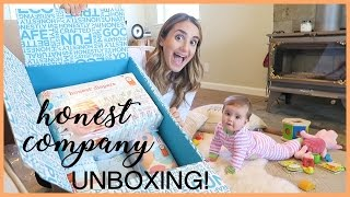 THE HONEST COMPANY UNBOXING + FIRST IMPRESSIONS