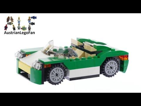 Vidéo LEGO Creator 31056 : La décapotable verte