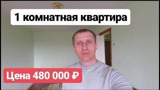1 комнатная квартира / Цена 480 000 рублей