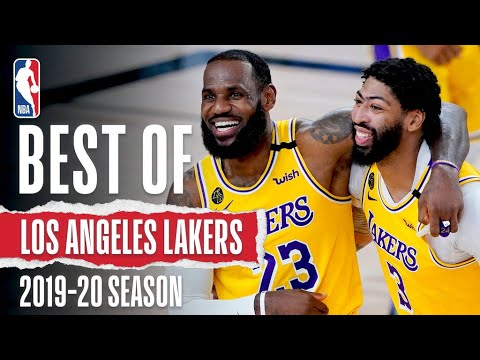 The Very Best Of The Los Angeles Lakers   2019-20 Season 🏆